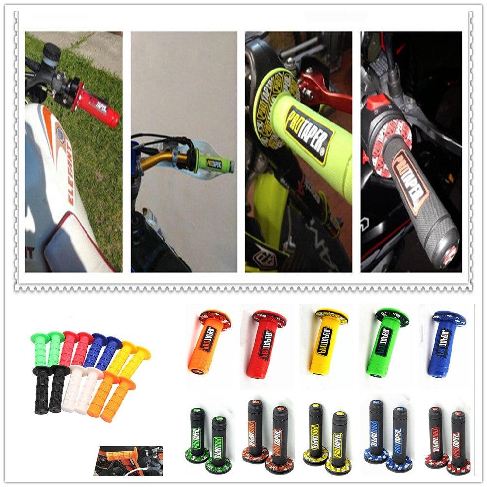 Handle Grip Motocross Motorcycle DirtBike Rubber Plastic Hand Grips FOR YAMAHA Bulldog XJR400 HONDA CBF600 SA CBR600F