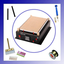 New for iPhone Tablet PC Mobile phone Built-in Pump Vacuum  Glass LCD Screen Separator Machine Max 14 inches