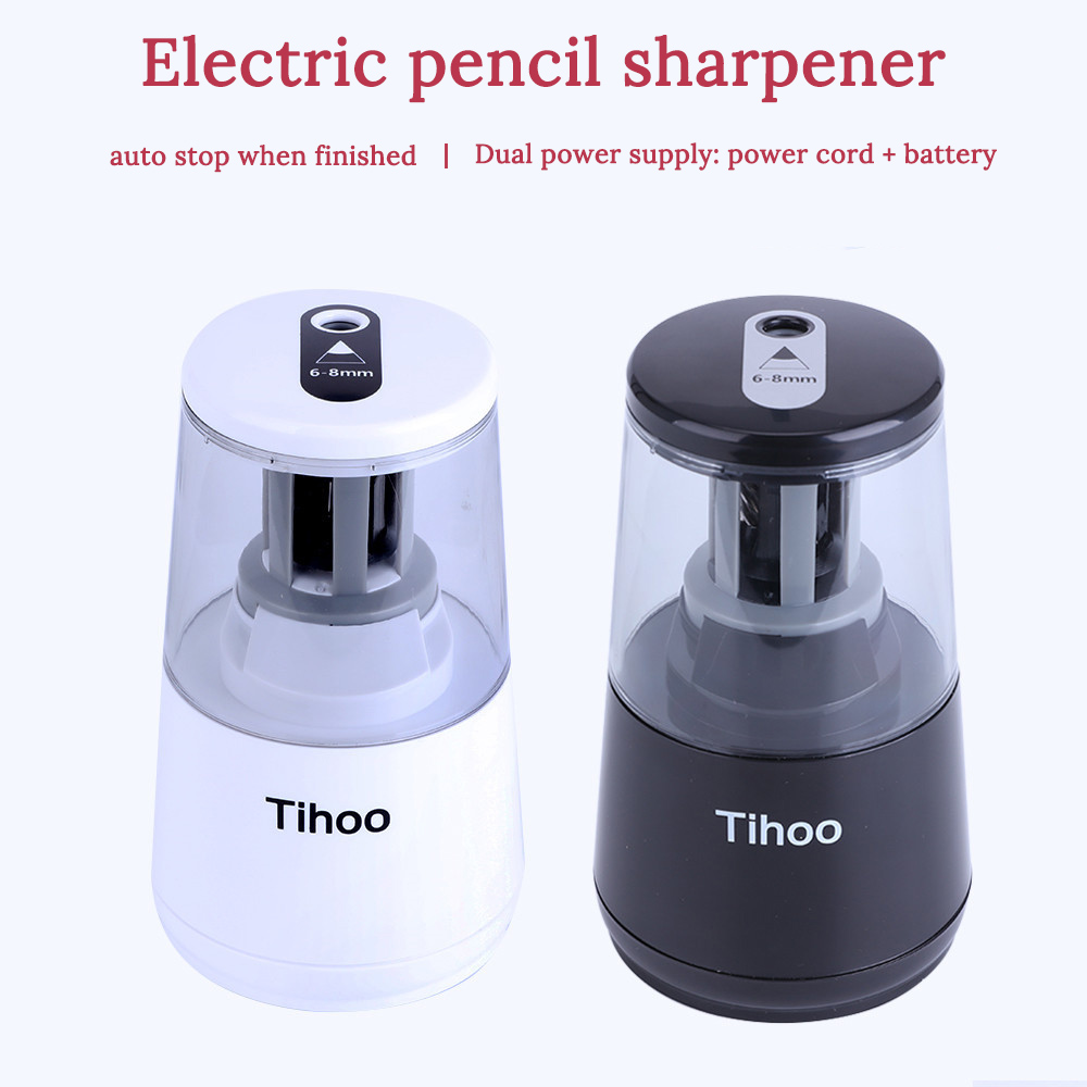 Electronic Pencil Sharpener Top Quality One Hole Electric Pencil Sharpener Automatic Sketch Knife Sharpener Art Stationery z 102 automatic knife maintenance sharpener green golden grey