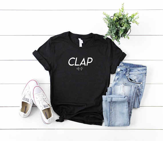 a83ece4a687e Detail Feedback Questions about Seventeen Clap T shirts tumblr ...