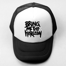 Bring Me The Horizon Rock Band Baseball Cap Men's Women's Girl's Boy's Snapback Hat Hip Hop Cap Doctor Who Pattern Trucker Caps