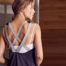 Ayopanda Trailblazer Tank Top Contrast strappy Back Women's Yoga Shirts Loose Blouse Sleeveles Gym Sports Vest Activewear