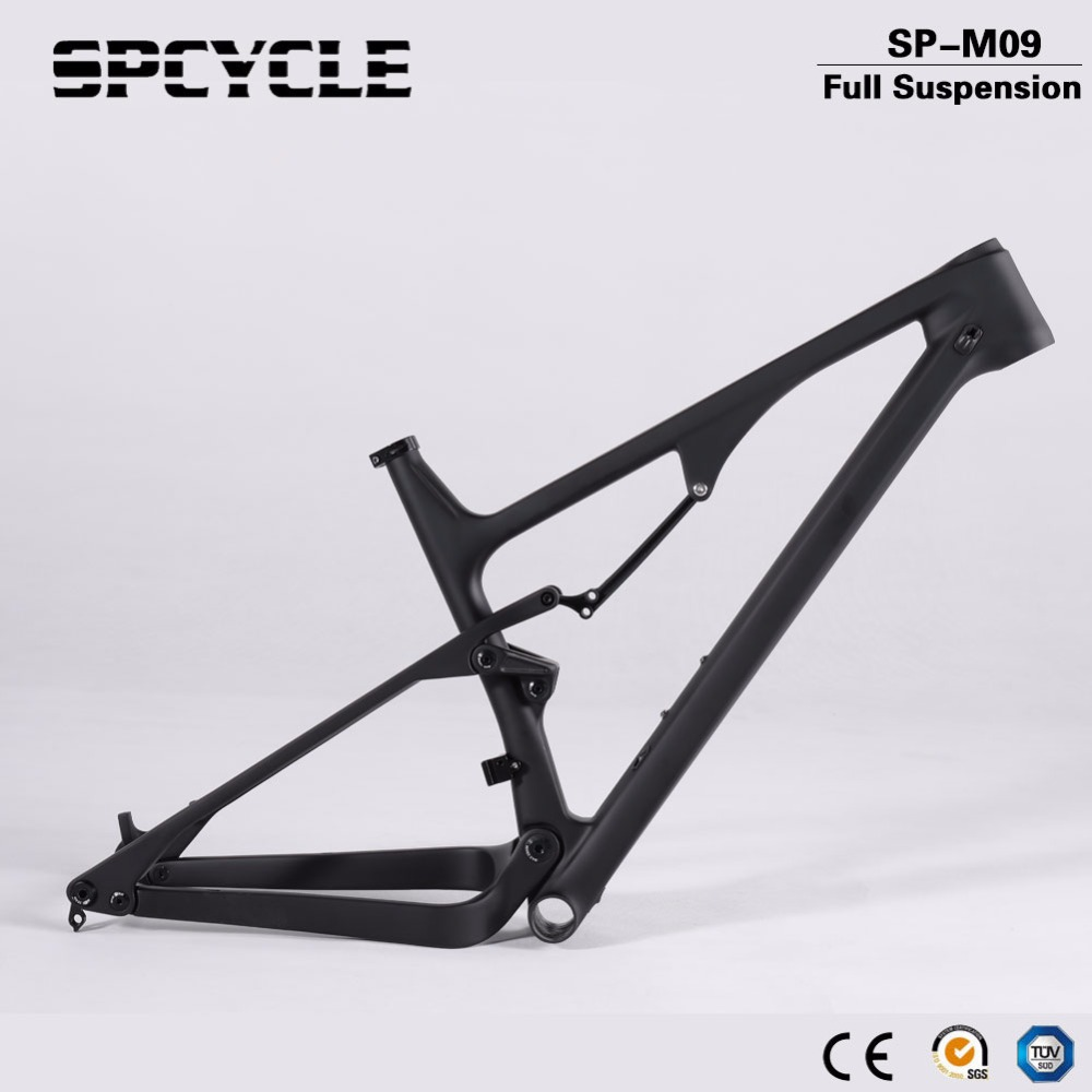 New Full Suspension XC MTB Mountain Bicycle Carbon Frames,29er 27.5er 650B Boost XC MTB Carbon Bike Frames Thru Axle 148*12mm