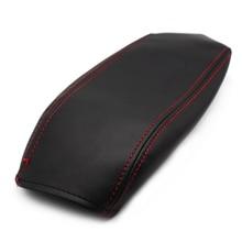 Soft Microfiber Leather Armrest Cover For Kia Sportage 2011 2012 2013 2014 2015 2016 Car Center Control Armrest Box Cover Trim стоимость
