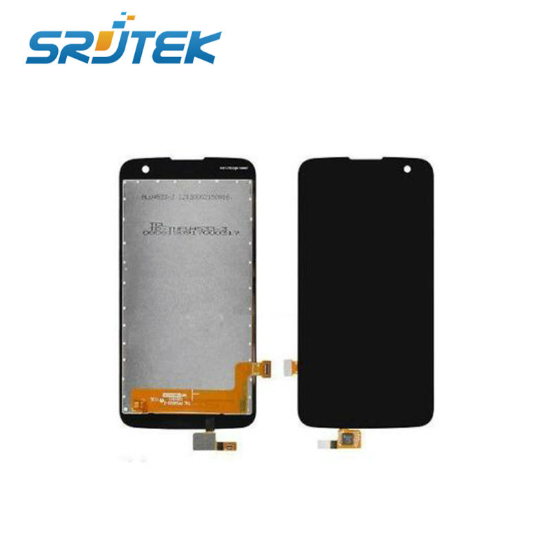 Balck LCD Display Touch Screen Digitizer Glass Assembly Replacement Parts For LG K120e