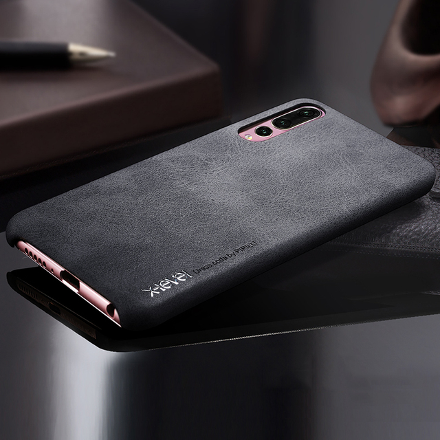 X-level Phone Case For Huawei P20 Lite Case Luxury Slim Soft Leather Back Cover For Coque Huawei P20/ 20 Pro Vintage Cases Funda
