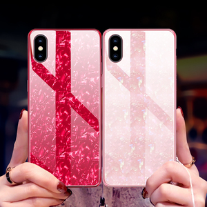 Image 3 - Suntaiho Étuis de Téléphone pour iPhone X 10 Boîtier En Verre Trempé Marbel Couverture Arrière pour iPhone 8 7 6 Plus Étui antidétonantes Étui Ajusté