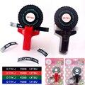Декоративная рулетка для печати этикеток  рулетка  рулон для скрапбукинга  тиснение для принтера этикеток MoTeX red
