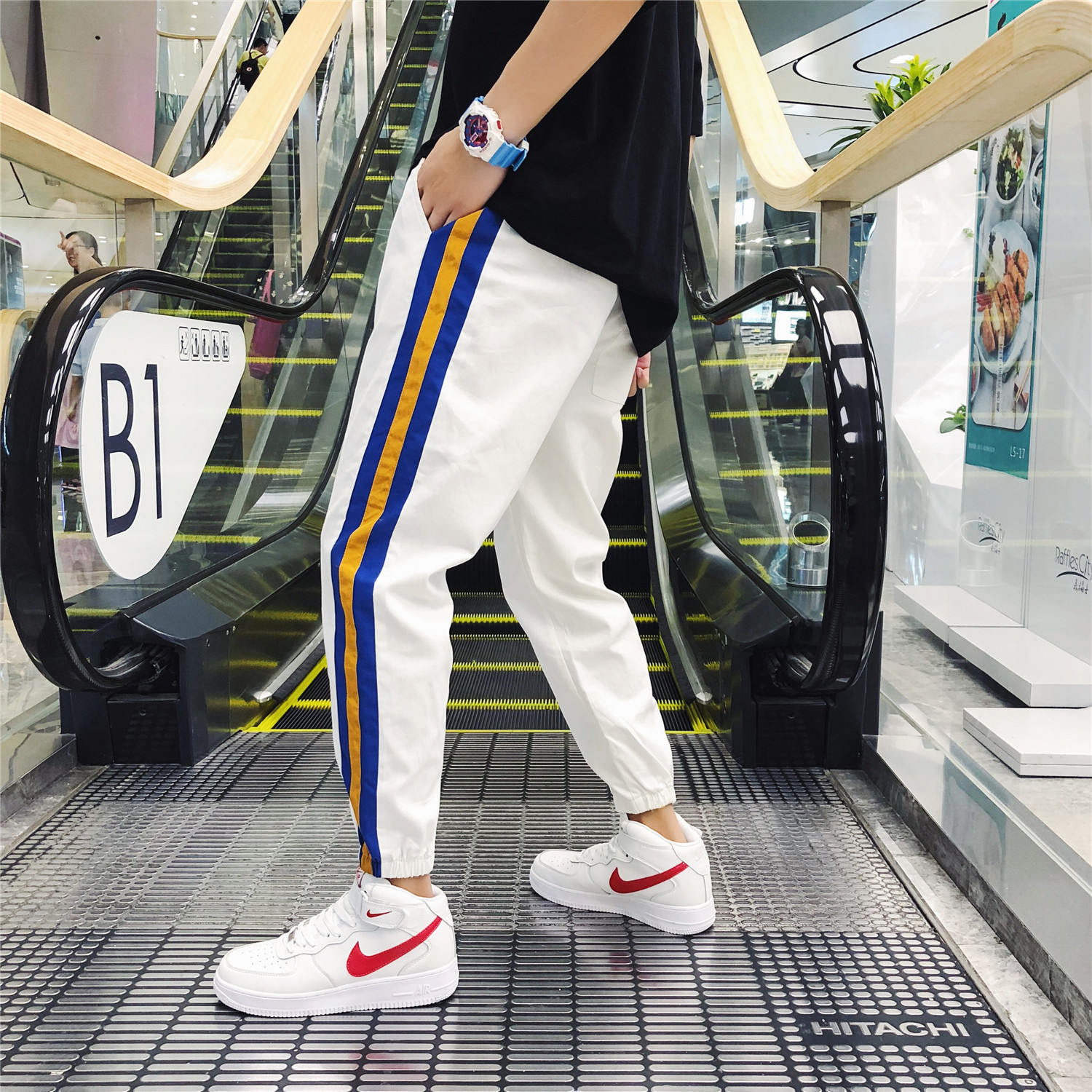 Men Pants 2019 Autumn Fashion Harem Pants Men Hip Hop Casual Joggers Trousers Male Sweatpants LEGIBLE(China)