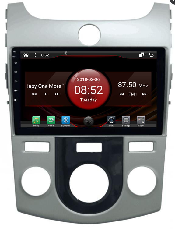 2GB RAM octa core Android 7 1 2 car font b GPS b font for KIA