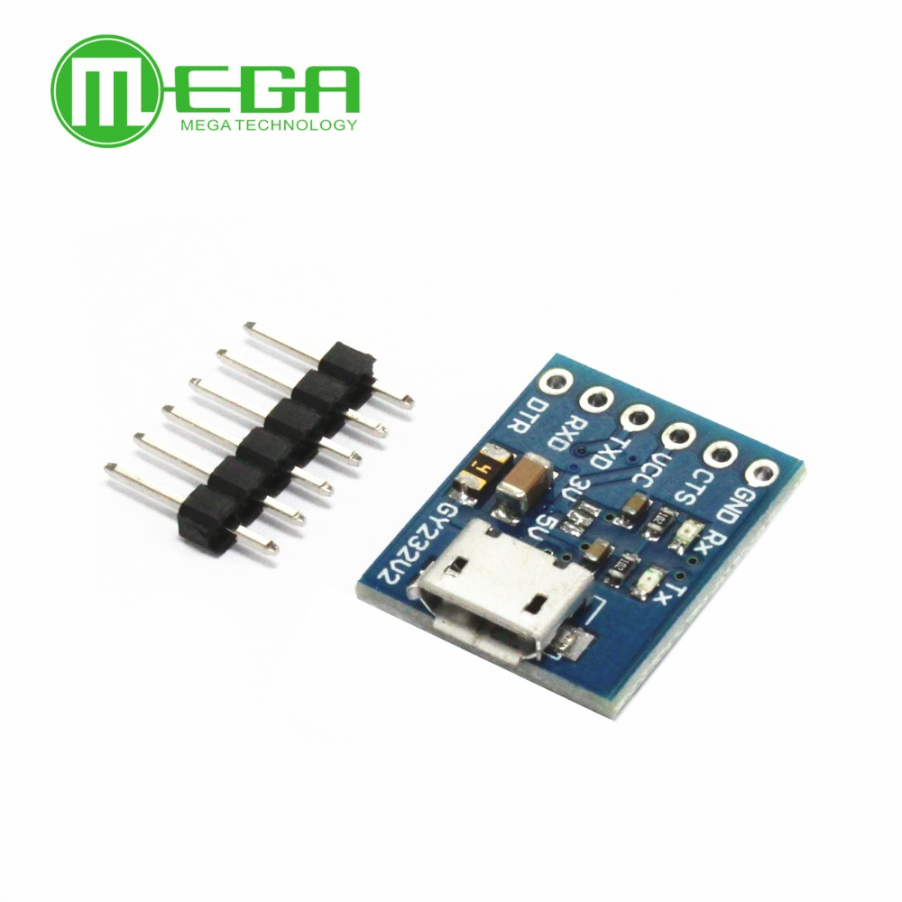 5Pcs/Lot USB To TTL FT232RL Communication Module Flash Board GY232V2 MICRO FT232RL USB