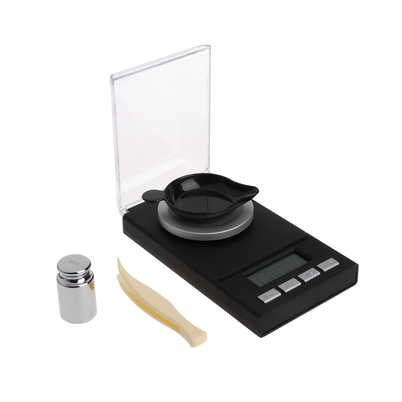AIMOMETER 50 г/0,001 г Мини цифровой ЖК-дисплей электронный грамм Jewellery Gold карманные весы