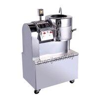 Aço inoxidável moinho de corte de Batata máquina peeling máquina comercial máquina de corte cortador de máquina de corte fatia de limpeza 750 w