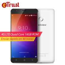 Blackview E7 4G Smartphone 5.5 inch 1280×720 IPS HD MTK6737 Quad Core Android 6.0 1GB RAM 16GB ROM 8MP CAM Fingerprint ID