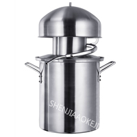 1PC NB10 Anti paste Pot Distiller Steamed Wine Pure Essential Oils Machine Dew Machine 304 Stainless Steel Alcohol Distiller