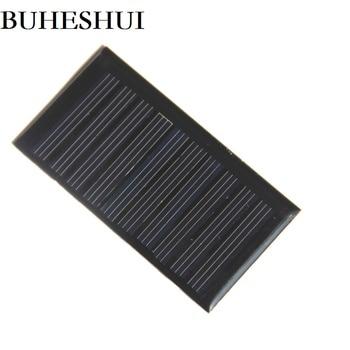 BUHESHUI 5V 45MA Mini Polycrystalline Solar Panel DIY Solar Cell Module Battery Charger For Small 3.7V Battery 66*35.5MM 1000pcs