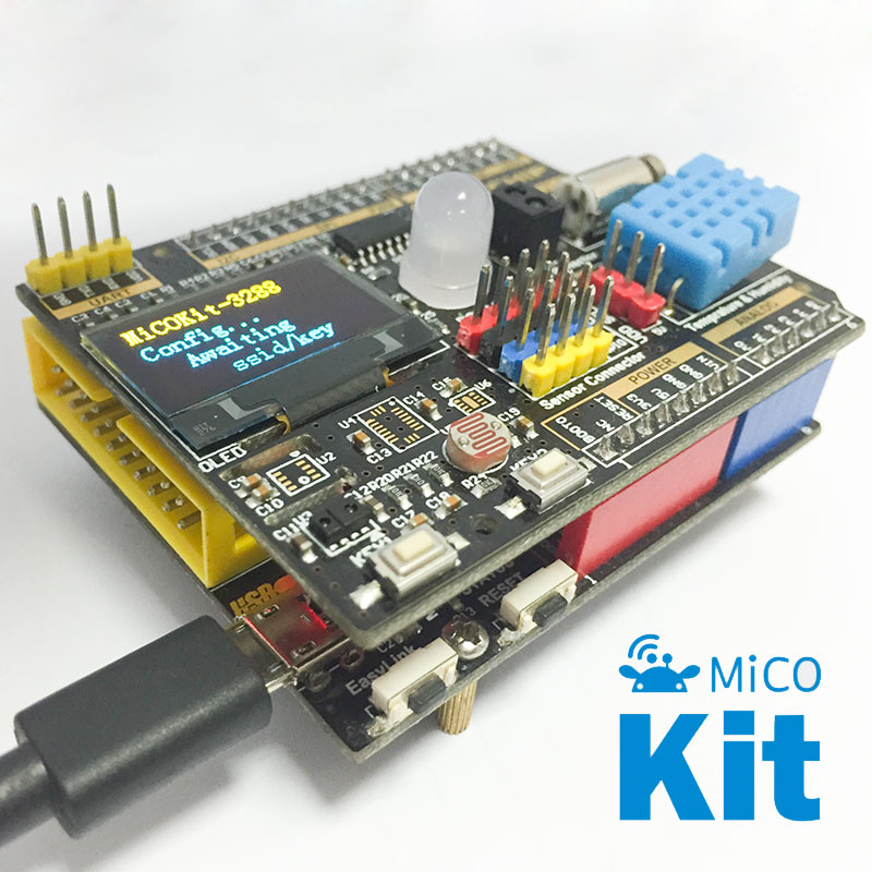 MiCOKit-3165 development kit, wireless WiFi networking intelligent hardware development board lacywear s27216 3165