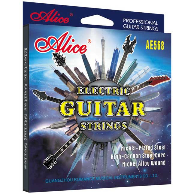 alice ae568 electric guitar strings set nickel plated steel nickel alloy music wire. Black Bedroom Furniture Sets. Home Design Ideas