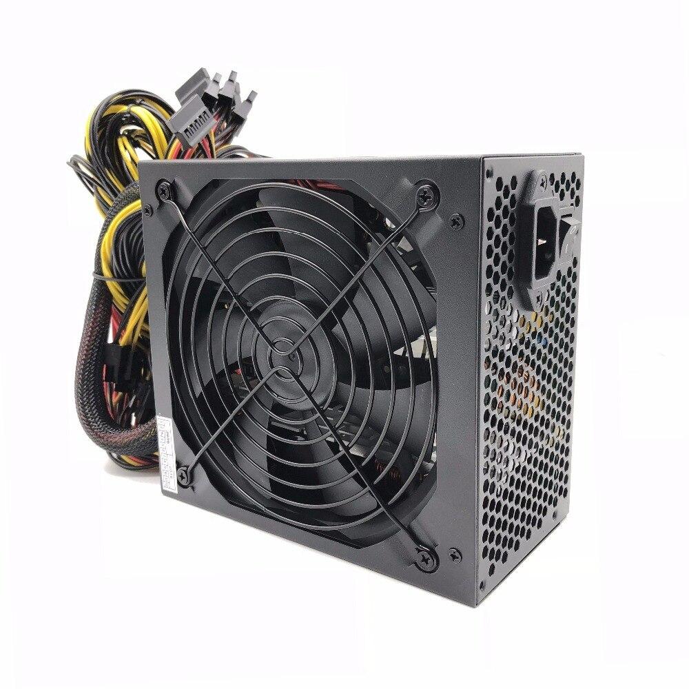 2000 W ATX Miniere D'oro di Alimentazione SATA IDE 8 GPU Per BTC ETH Rig Ethereum ComponentMining Macchina supporta 8 GPU schede Del Computer