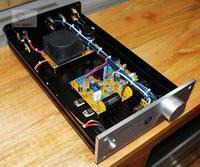 Finished PASS ZEN Single ended Class A Headphone Amplifier / 3W+3W Desktop Amplifier