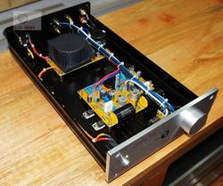 Finished PASS ZEN Single-ended Class A Headphone Amplifier / 3W+3W Desktop Amplifier
