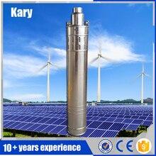 Kary factory outlet 80 м лифт 1 hp 24 В dc солнечной водяной насос погружной для глубоких скважин, встроенный контроллер солнечной винтовой насос