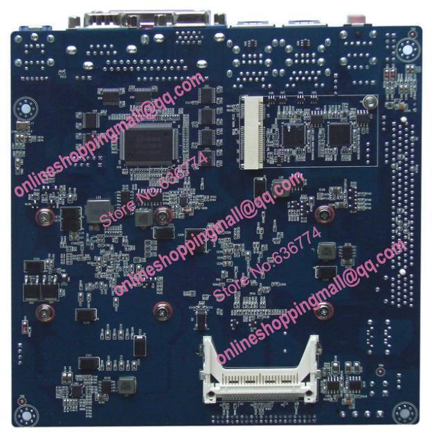 Mini-itx motherboard twin d525 8 itx-m52x82 fan serial for dc 12v ip25x2