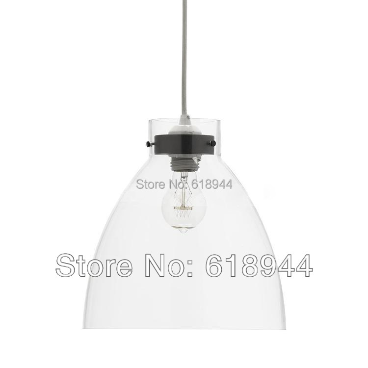 Modern Brief Fashion Clear Glass Pendant Lights Dining Room Lamps for Home Modern Hanging Light Fixtures 220V E27 led lights modern round glass pendant light grey color clear color amber color pendant lamps with bulbs 110v 220v led pendant lights