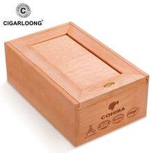 Cigarloong коробка для сигар humidor кедровая древесина безболезненная
