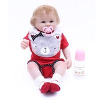 OtardDolls 48cm 19inch lifelike bebe reborn doll newborn Baby girl Children's creative gifts Silicone Reborn Baby dolls