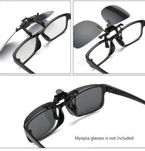 Image 3 - מקוטב קליפ על להעיף את משקפי שמש גברים נשים גוונים קליפ על עבור קוצר ראייה משקפיים נהיגה דיג משקפי UV400