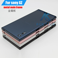 Original Back Battery Door metal Cover for Sony Xperia XZ F8332 Middle Plate Chasis Frame + Rear Cover Full Housing Repair Parts
