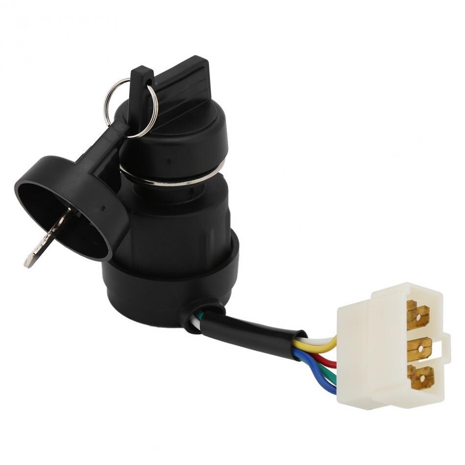 186 Gasoline Generator Key Switch  5 Wires Lgnition Start  Key Switch With 2KW-5KW