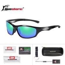 Queshark Unisex HD Polarized Cycling Glasses Women Men Outdoor Sports UV400 Nigh