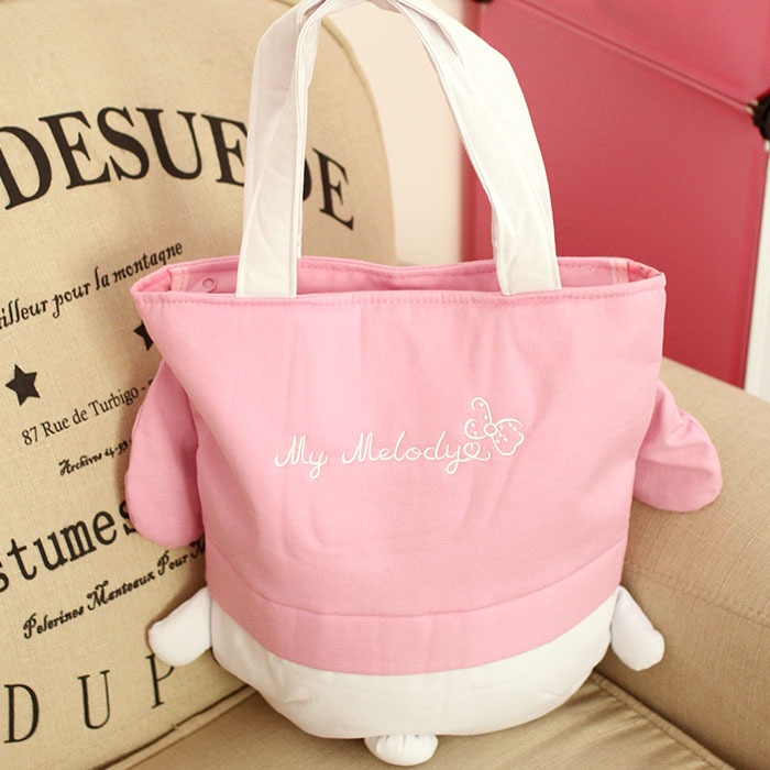 New My Melody Hello Kitty Pudding Dog Women Canvas Bag Anime Toys Cartoon  Plush Handbag Children Shoulder Bag Girls Shopping Bag-in Top-Handle Bags  from ... a3b43a445ae30