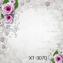 HUAYI pink flowers-are-framed-wooden-background-multi-purpose-background-backgdrop for shops photos/diy projects/mini photoshoot(China)