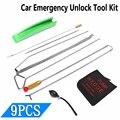 Универсальный ключ от автомобильной двери, инструмент для аварийной разблокировки, комплект воздушного насоса
