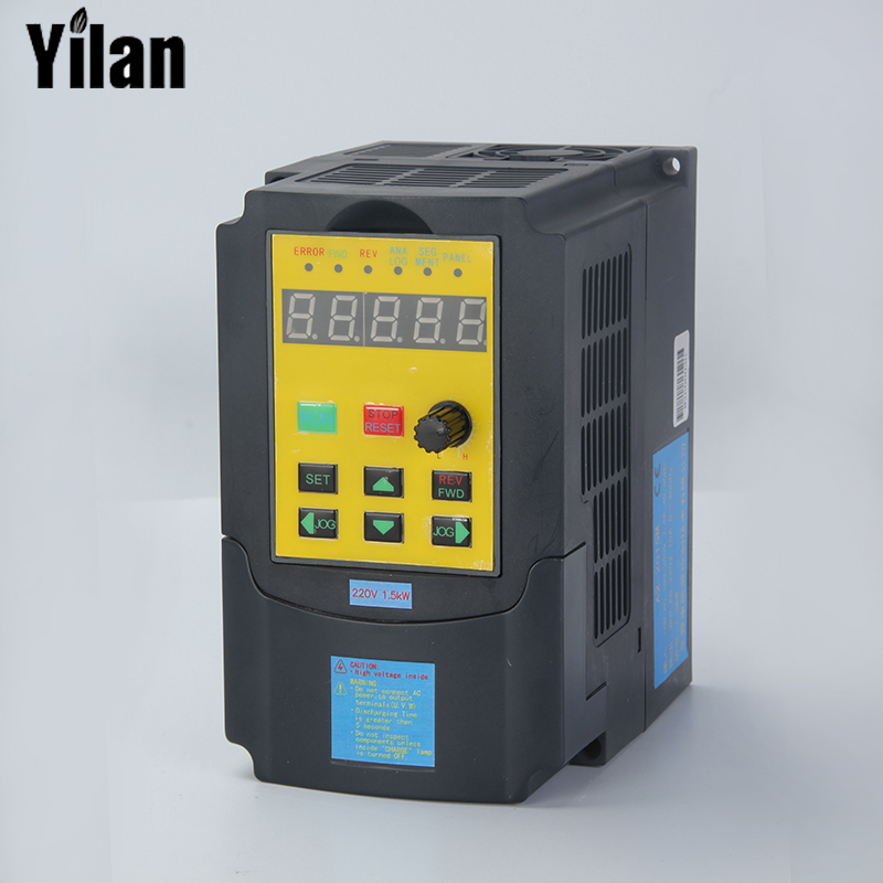 Russian Manual 1500w 1 5kw Single Phase Input And 220v 3 Phase Output Mini Frequency Inverter