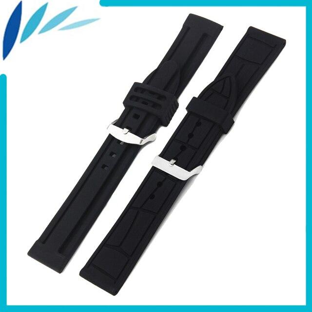 c30cfb9bee2 Borracha de Silicone Watch Band 20mm 22mm para Mido Pulseira Alça de Pulso  Pulseira Cinto de