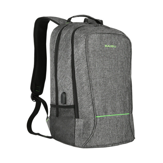 2018 New Hiking Bags Backpack School Bag for Teenagers Design Frame USB  Charge Computer Backpacks Anti-theft Waterproof Bags XNC d11386cde7cf5