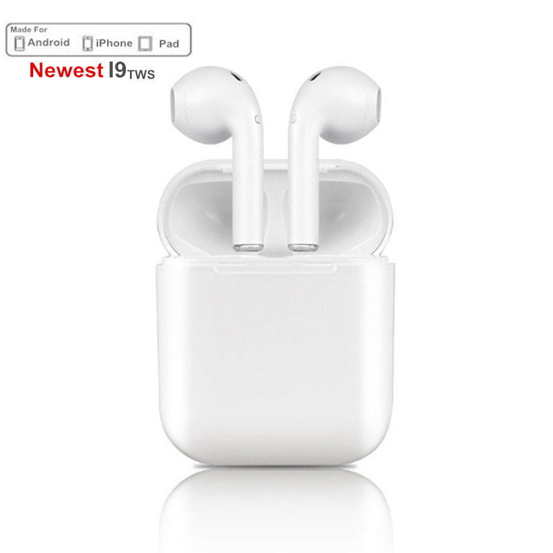 Mini IFANS I9S TWS Airpods Wireless Bluetooth Earphone Earbuds With Mic Not Airpods For iPhone Samsung Android Dropshipping
