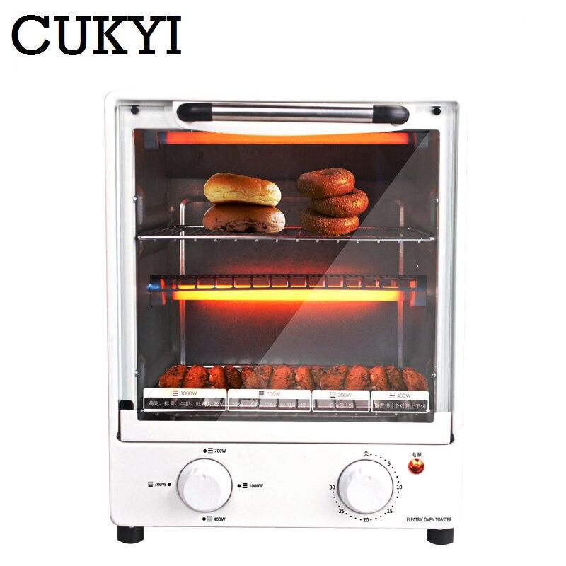 CUKYI appareils électriques verticaux commercial ménage multifonctionnel four four à poulet pizza grille-pain four cuisine