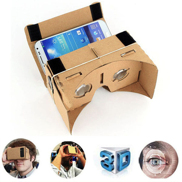 1000pcs high quality diy google cardboard virtual reality vr mobile 1000pcs high quality diy google cardboard virtual reality vr mobile phone 3d viewing glasses for 55 screen google 3d glasses in 3d glasses virtual publicscrutiny Image collections