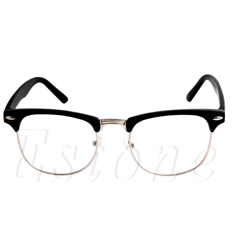 3a4442bf633e6 1 unid moda metal medias Marcos Gafas Marcos retro mujer hombres vidrio de  lectura lente ordenador gafas Marcos en Gafas de Marcos de Accesorios de  ropa en ...