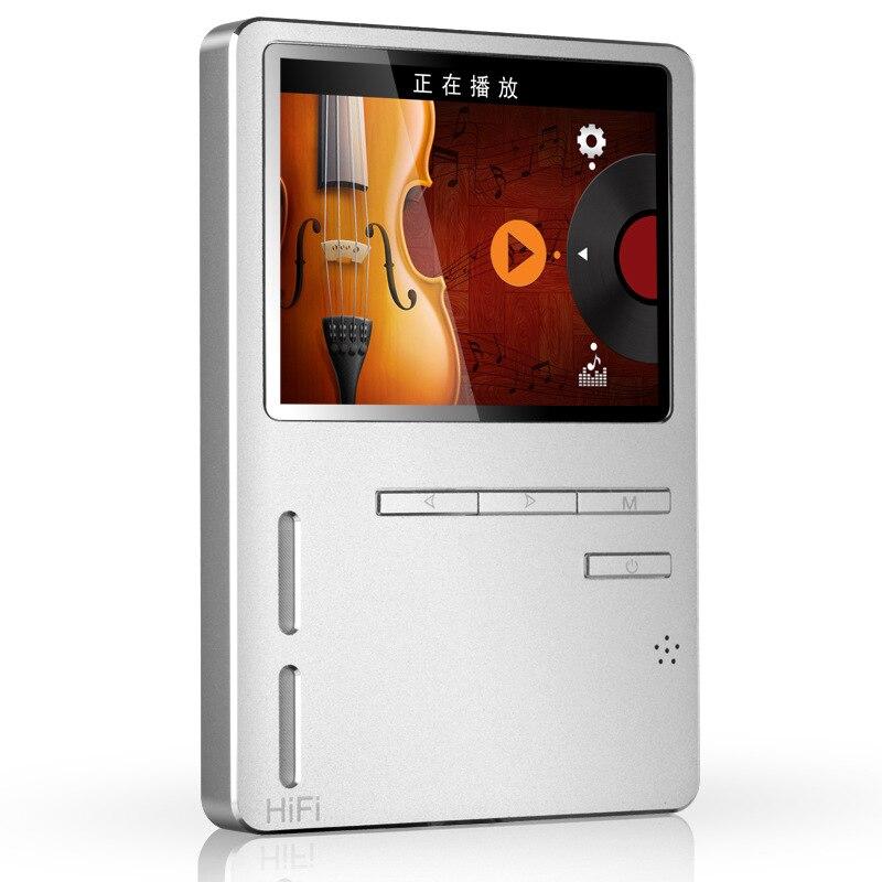ONN 8G Metal MP3 Player 2 3 inch USB 3 0 Hifi MP3 Music Player 24