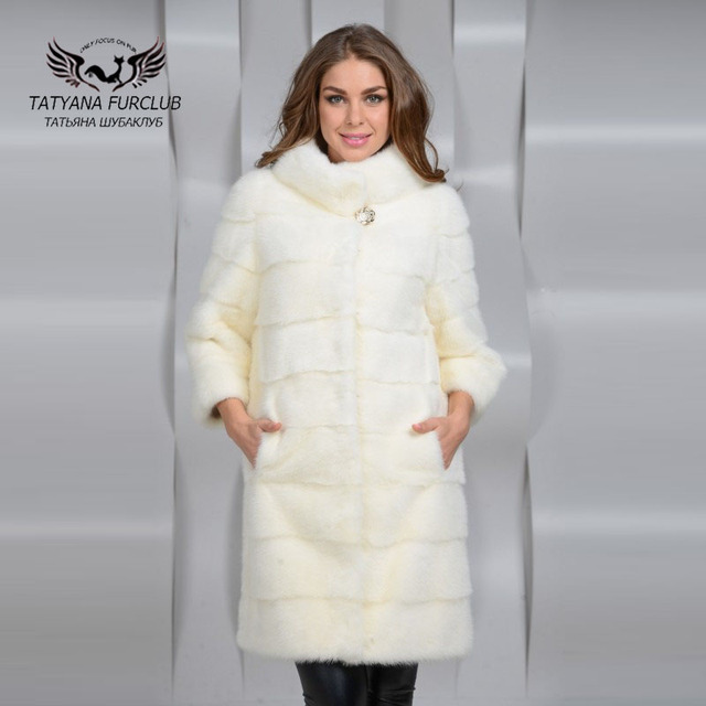Mink Coat Value >> Tatyana Furclub Luxury Mink Coat With Collar New Real Value Natural