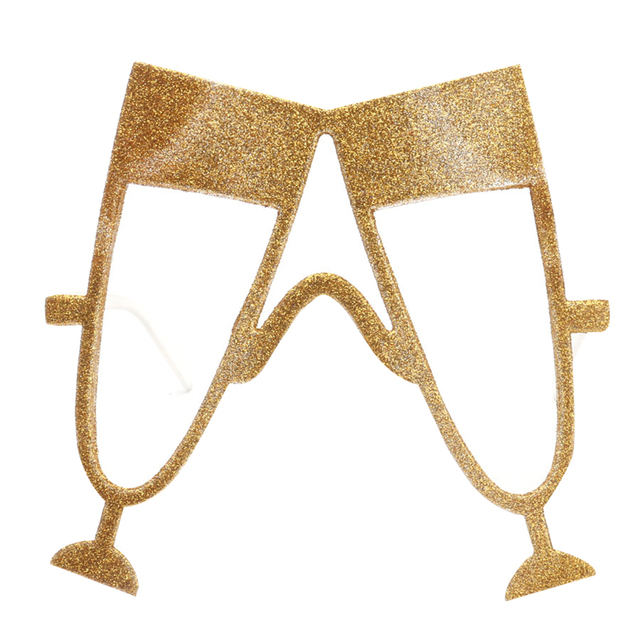 Creativo Oktoberfest Champagne A Forma Di Occhiali Occhiali Di Carnevale Del  Partito Forniture