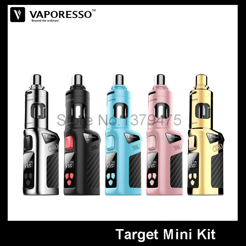 100 Original Vaporesso Target Mini Kit With 40W Target Mini Mod And 2 0ml Guardian Tank
