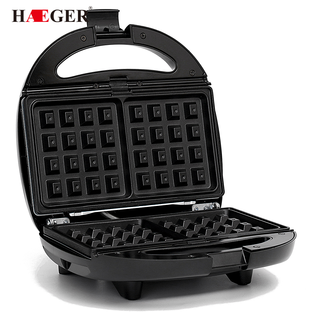 Electric Sandwich Waffle Maker BBQ Grilling Plate Toaster Breakfast Machine Barbecue Oven Bread Maker Multicooker Kitchen