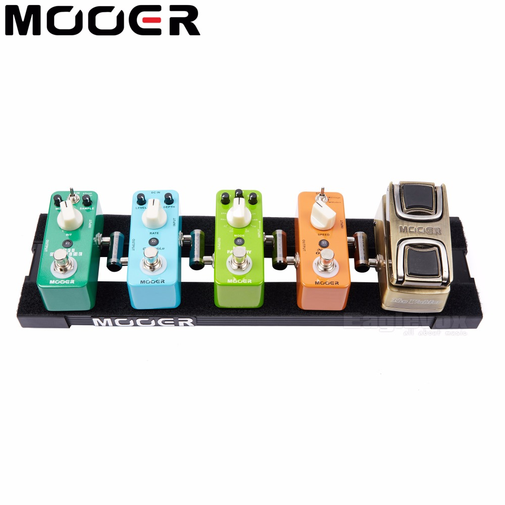 Mooer Mini Pedal Board with Carry Bag for Mini Guitar Effect Pedal Compact size and simple styling Pb-05 on stage gpb2000 compact pedal board